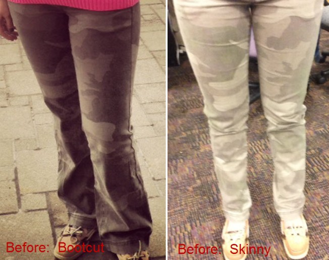 6.10.13 pants before and after